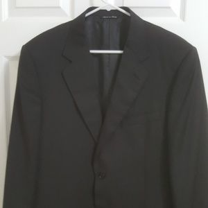 Canali Mens Sports Blazer Dark Grey Sz 44 l